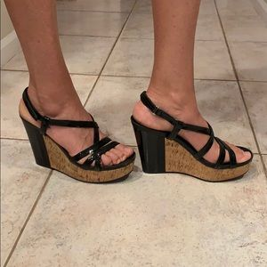 Prada wedge sandals 39